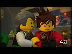 Sensei Garmadon and Kai