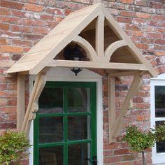 Above the door only porch & Buy Cheltenham Open Fronted GRP Door Canopies From Prior Canopies ... Pezcame.Com