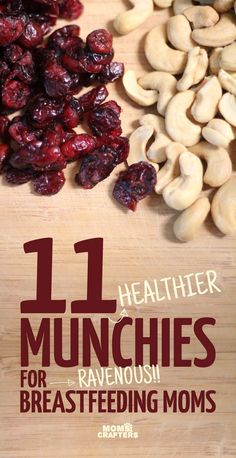 Healthy Tips Are you a ravenous breastfeeding mama, who's trying to still be healthy? Here's a list of 11 healthier snacks for breastfeeding moms who don't want to give in to the munchies. Baby Food Recipes, Healthy Recipes, Healthy Moms, Healthy Choices, Diet Recipes, Healthy Munchies, Lactation Recipes, Lactation Foods, Healthy Lactation Cookies