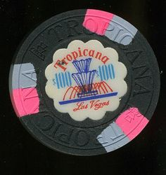 Las Vegas Casino Chip of the Day is a $100 Tropicana 2nd issue Very Popular Fountain issue for only $19.99 here http://www.all-chips.com/ChipDetail.php?ChipID=13121