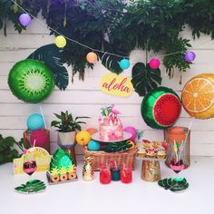 A Tropical Party for those hot summer days!
