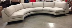 Sofa U Love | Custom Made-in-USA Furniture | Sectionals Sectionals Half Moon Sectional