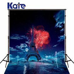 Find More Background Information about Kate No Wrinkles Photo Backdrops Blue Sky White Cloud Background Fireworks Eiffel Tower Studio for Newborn Backdrop,High Quality tower boy,China studio art Suppliers, Cheap studio it from Art photography Background on Aliexpress.com