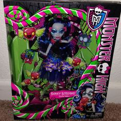 MONSTER HIGH SWEET SCREAMS Ghoulia Yelps Exclusive  NEW Just Released
