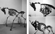 Eerie sculpture by artist Jason Christopher