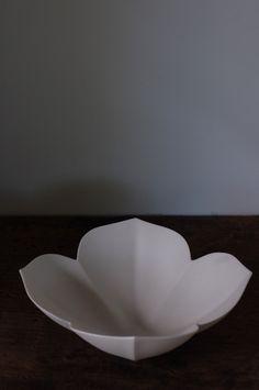 simple porcelain shape