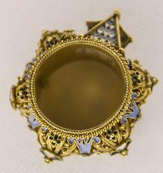 jewish wedding ring italy 17th 18th c gold enamel - Jewish Wedding Ring
