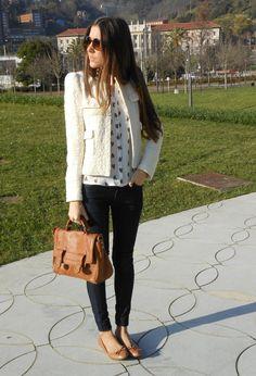 """Zara (new collection) Chaquetas, Zara (new collection) """"Amo este outfit"""" #outfit #moda"""
