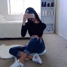 Imagem de fashion, adidas, and girl