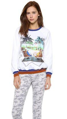Lust List: Clover Canyon Eames Couple Sweatshirt