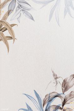 Leaf pattern frame design illustration | premium image by rawpixel.com / Adj Leaves Wallpaper Iphone, Free Wallpaper Backgrounds, Gold Wallpaper Background, Butterfly Background, Framed Wallpaper, Flower Phone Wallpaper, Leaf Background, Butterfly Frame, Flower Backgrounds