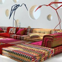 Sofa-Möbel-Design-attraktive-exotische