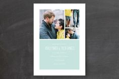 Forever Wedding Invitations by Kimberly Nicole at minted.com