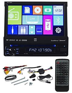 Dual DV714BH 7.1″ Single-Din In-dash DVD, Multimedia Receiver With Bluetooth, HDMI, and iPhone/Android Screen Mirroring Technology http://www.productsforautomotive.com/dual-dv714bh-7-1-single-din-in-dash-dvd-multimedia-receiver-with-bluetooth-hdmi-and-iphoneandroid-screen-mirroring-technology/