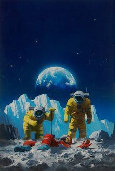 (15) Tumblr Sci Fi Kunst, Science Fiction Kunst, Arte Sci Fi, 70s Sci Fi Art, Classic Sci Fi, Futuristic Art, Retro Waves, Pulp Art, Sci Fi Fantasy