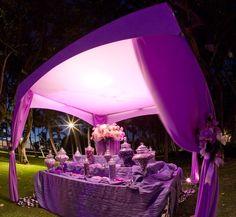 Wedding Candy Bar Purple | Found on blogs.wajiw.com