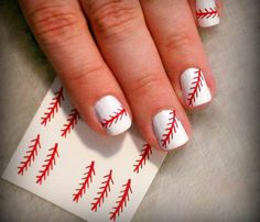 BASEBALL NAIL STITCHES (36 INCLUDED)