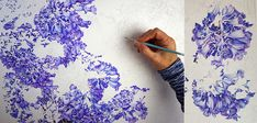 Jacaranda Painting - A Major Work in Watercolour - Heidi Willis Day And Time, No Time For Me, Botanical Illustration, Botanical Art, Textures And Tones, Some Times, Heart And Mind, Watercolour, Things To Come