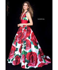 967e0c50904 Sherri Hill 52084 Spring 2018 Evening Collection dress. Sherri Hill Prom  Dresses