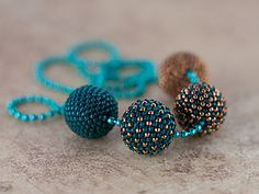 Beaded bead | tutorial