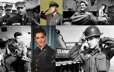 """Imagens de Elvis Presley no exército em meados de 1958. Deixou para trás a vida de celebridade para servir seu país. """"Ser feliz é o maior afrodisíaco que existe. Você  só passa por essa vida uma vez. Não tem bis."""" (Elvis Presley)  #elvispresley #elvis #elvisnaomorreu #song #photography #arte #historic #history #unitedstates #usa #photo #musica #music http://tipsrazzi.com/ipost/1525005706939648345/?code=BUp6JxSlMlZ"""