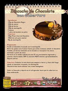 Tartas, Galletas Decoradas y Cupcakes: Bizcocho de Chocolate con Cobertura | https://lomejordelaweb.es/