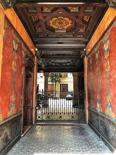 Art Nouveau, Italian Life, Architecture, Entrance, Photos, Milano, Italy, Beautiful, Instagram