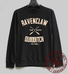 Ravenclaw Quidditch Shirt Harry Potter by SweaterWeather2014