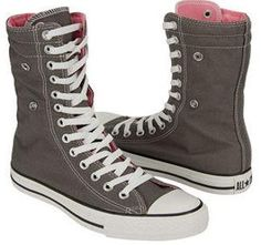 24561a0d7194 Converse Chuck Taylor Xhi For Women. This is a converse xhi shoe or women.  Classic chuck taylor style and flexible canvas. It is a winter converse shoe