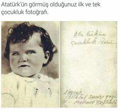 Atamız çocukken..