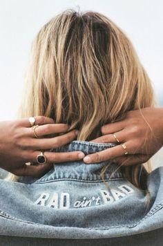 Amuse Society | hair | jeans jacket