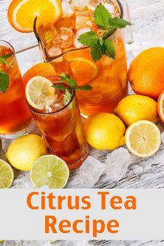 Citrus Tea Recipe - 13 Homemade Flavored Tea Recipes