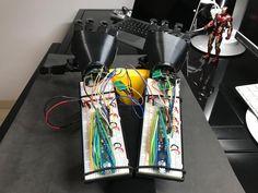 Double arm almost ready . #bionic #robot #design #DIY #industrialdesign #prosthetics #instagood #3dprint #follow #3D #3dmodel #cosplay #cyborg #mechatronics #medical #beautiful #technology #amazing #style #cool #ironman #maker #arduino #RaspberryPi #mechanics #animation #look #instagood #selfie #love #inspiration