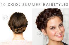 10 Cool Summer Hairstyles | Hellobee