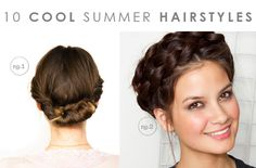 10 Cool Summer Hairstyles