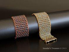 Beading Tutorial - Dramatic SuperDuo Bracelet Smadar's treasure