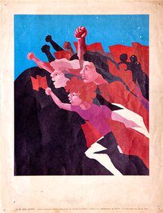 25 de abril History Of Portugal, Carnations, Ps, Revolution, Nova, Paradise, Posters, Fine Art, Illustration
