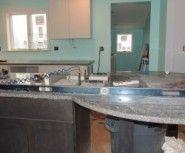 Joining seating area to stove run #kitchenisland #kitchendesign #kitchencabinets