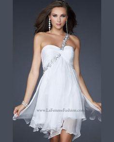 Sexy short summer wedding gown 2014 by La Femme