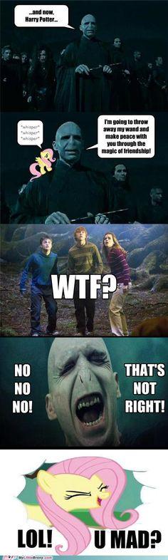 How Harry Potter should have ended.
