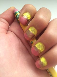 Back to school nails for kids