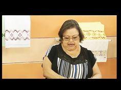 Pano de copa com crivo sem corte com Leila Jacob   Vitrine do Artesanato na TV - YouTube