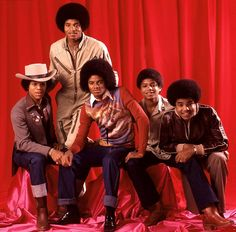 The Jacksons - (L-R) Marlon Jackson, Jackie Jackson, Michael Jackson, Randy Jackson, and Tito Jackson. The Jackson Five, Jackson Family, Tito Jackson, Jackie Jackson, Randy Jackson, Jackson Music, The Jacksons, Popular Music, Soul Music