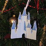 Cinderella Castle Ornament