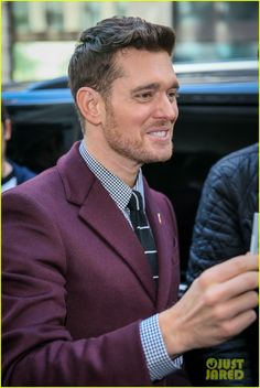 Michael Bublé Hits London To Promote New Album 'Nobody But Me' - Full Stream Here!