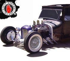 These wire wheels (normally seen on classic European cars) are the icing on the cake to this custom beauty!