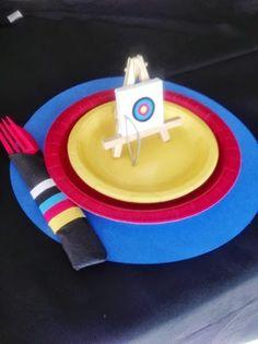 Archery Birthday Party Planning Ideas Supplies Idea Cake Decorations