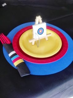 Archery Birthday Party Planning Ideas Supplies Idea Cake Decorations
