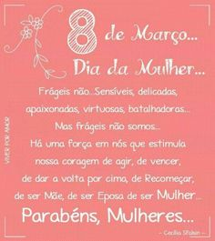107 Frases para o DIA DA MULHER 2019 (AS MAIS LINDAS!!) Quote Posters, Ladies Day, Positive Thoughts, Mary Kay, Girl Power, Instagram Feed, Quote Of The Day, Wise Words, Kids Fashion