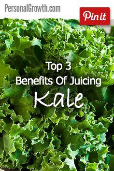 Top 3 Benefits Of Juicing Kale